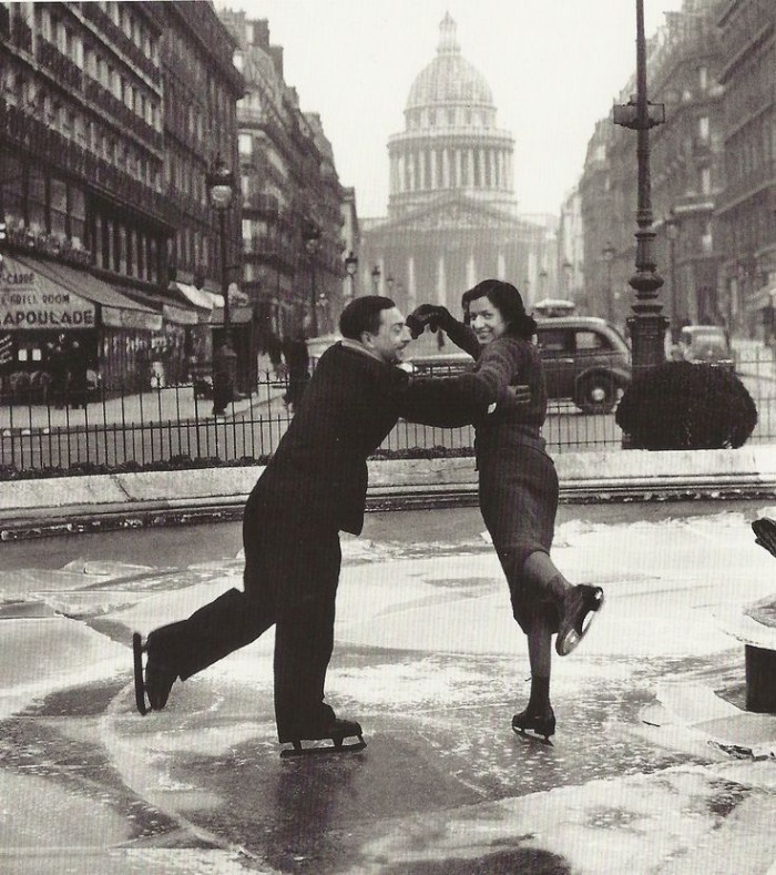Patinoire au Pantheon, 1936