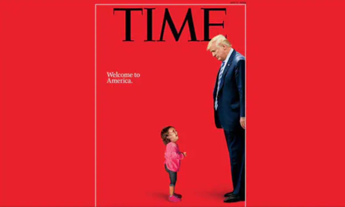 Donald Trump, A 2-Year-Old Immigrant Girl. See TIME's Hard-Hitting Cover
