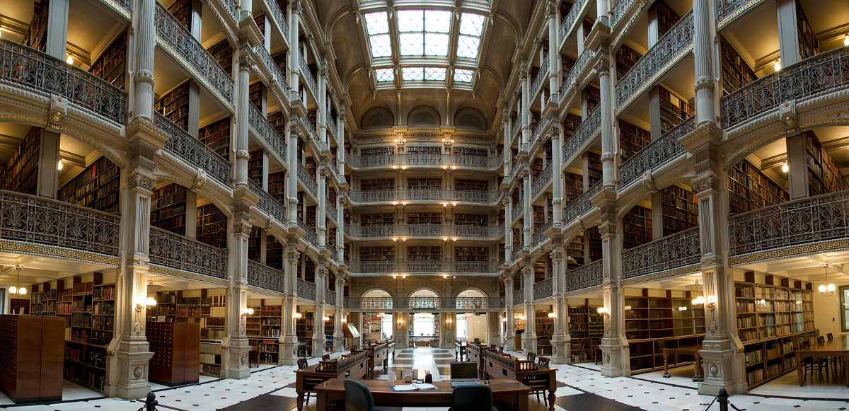 George Peabody Library.freeminds.gr