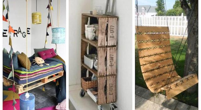 Project: κατασκευές από  ξύλινες παλέτες…