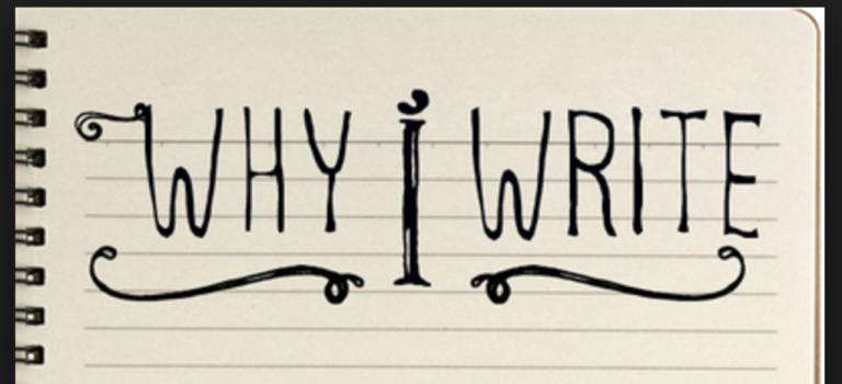 Μα γιατί γράφω;