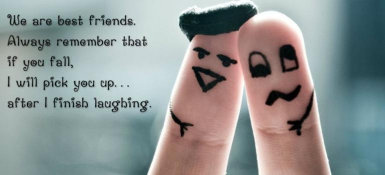 Ο μόνος τρόπος να'χεις κάποιο φίλο, είναι να είσαι φίλος του….