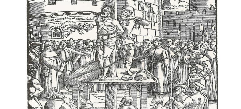 Η απαγορευμένη βίβλος του William Tyndale