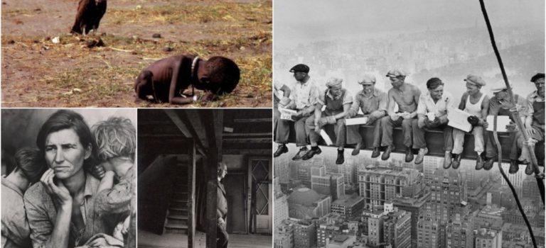 Εμβληματικές φωτογραφίες του 20ου αιώνα…