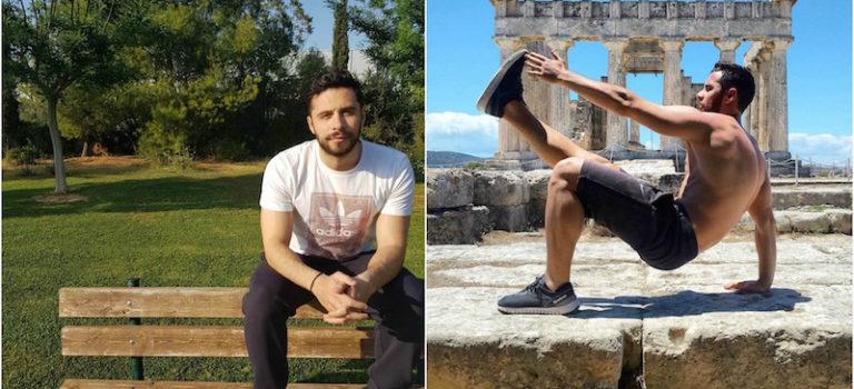 """Συζητώντας για τη φιλοσοφία της ευεξίας με τον """"thewellnesstrainer"""" Αλέξανδρο Τηλιόπουλο"""
