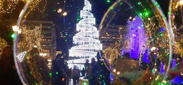 Χριστούγεννα στην πόλη…