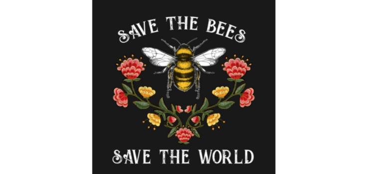 Μια μέλισσα τον Αύγουστο!