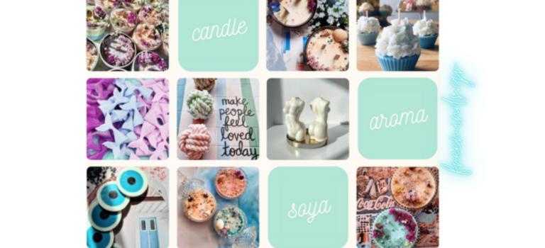 Γνωρίζοντας τη Χαρά και το Candle Aroma Soya